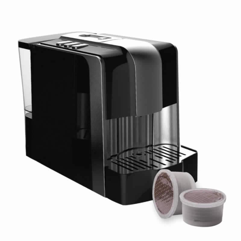 Silverlight nera macchina caff per capsule espresso point cialde compatibili e originali - Point collecte capsule nespresso ...