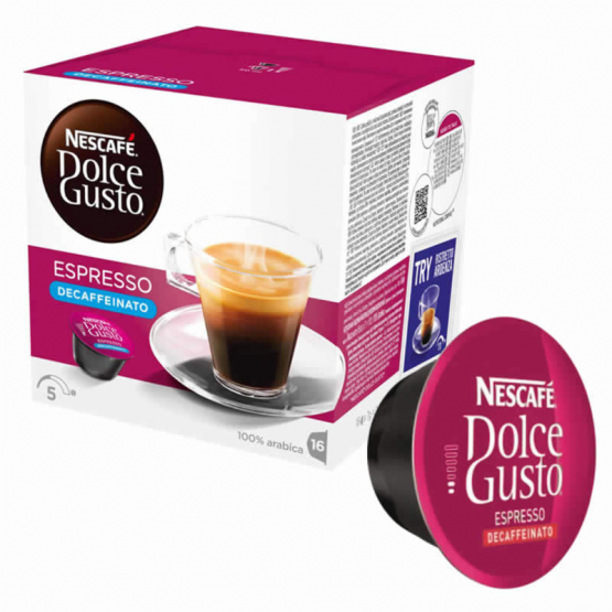 dolce gusto decaffeinato  Espresso Decaffeinato | Cialde compatibili e originali | 1920 il ...